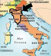 Incorporación de Parma, Módena y Toscana