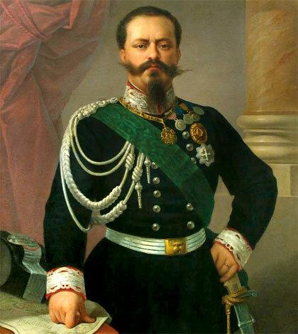 Nombramiento de Víctor Manuel II como el Primer Rey de Italia (17/May/1861).