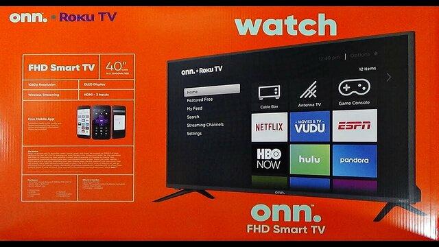 Onn. Roku TV