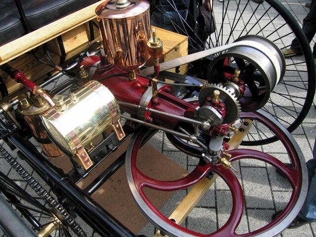 Invenció del motor a gasolina