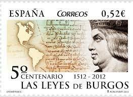 Se aprueban las leyes de Burgos