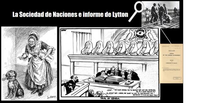 Sociedad de las Naciones e informe de Lytton