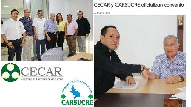 Convenio CECAR-CARSUCRE