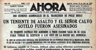 Asesinatos de Castillo y Calvo Sotelo