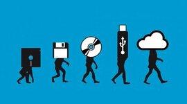 Evolución del Almacenamiento Externo timeline