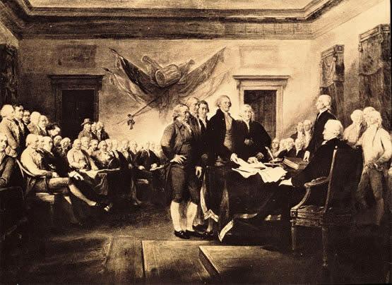 Intromisión británica en el campo de las libertades de los norteamericanos