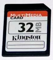 En 1997 surgen las tarjetas MultiMediaCard