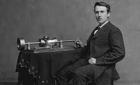 El primer fonógrafo