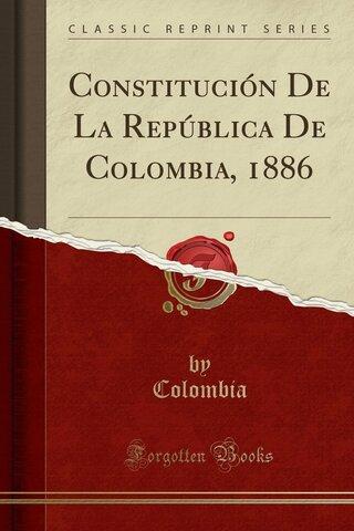 Constitución 1886