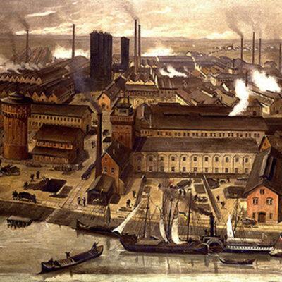 Principales invenciones de la Revolución Industrial timeline