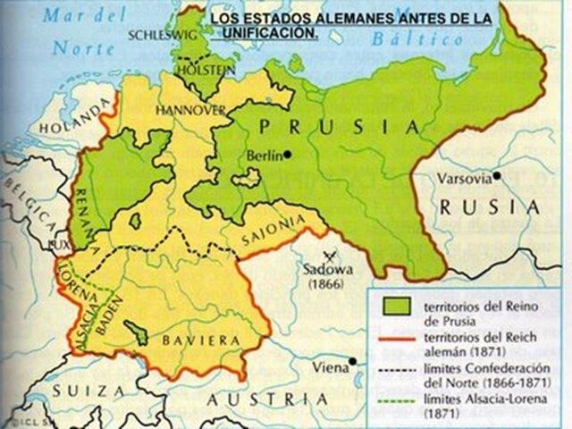 Enemistad entre Austria y Prusia
