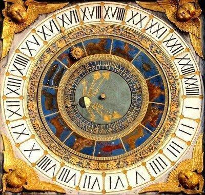 Relojes en toda Europa