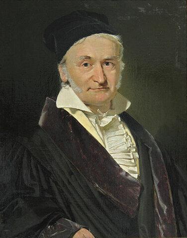 Johann Carl Friedrich Gauss(1777 – 1855)