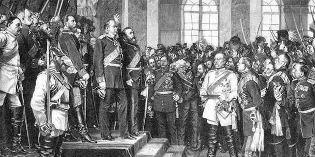 Anexión de Alsacia y Lorena. Imperio Alemán