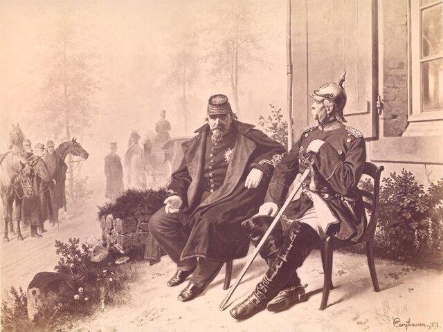 El fin de Napoleón III, último rey francés