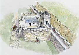 The Hadrian Wall is built