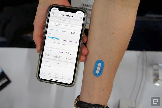 El primer sensor portátil de pH para la piel