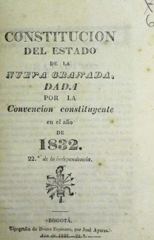 Constitución Neogranadina