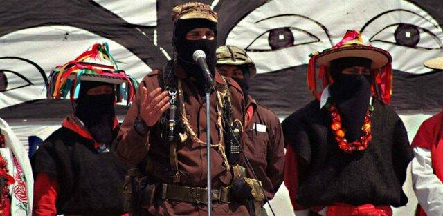 Desaparición del Sub comandante Marcos del escenario publico