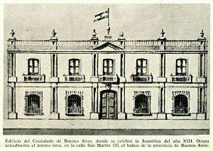 CREACION DEL CONSULADO DE BUENOS AIRES