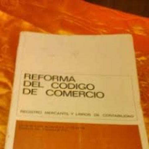 SE PRODUCE LA PRIMERA GRAN REFORMA DEL CODIGO DE COMERCIO DE 1862