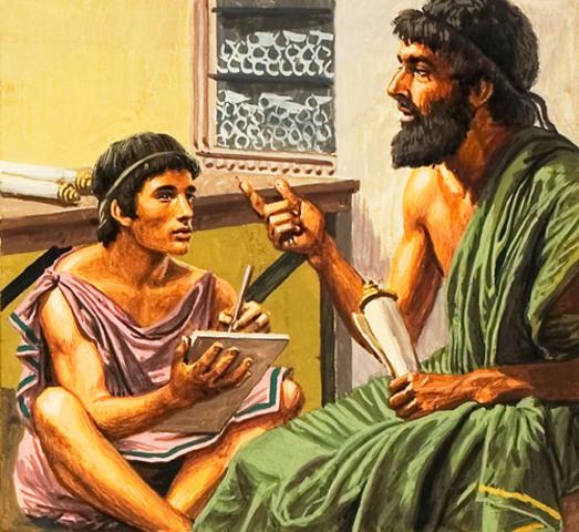 Siglo VI. Cambio en la educación.