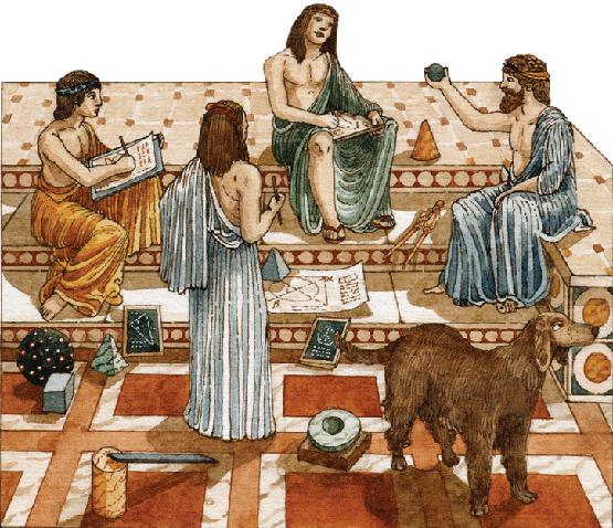 Siglo V. Aparición de la escuela