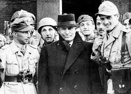 Destitución de Mussolini