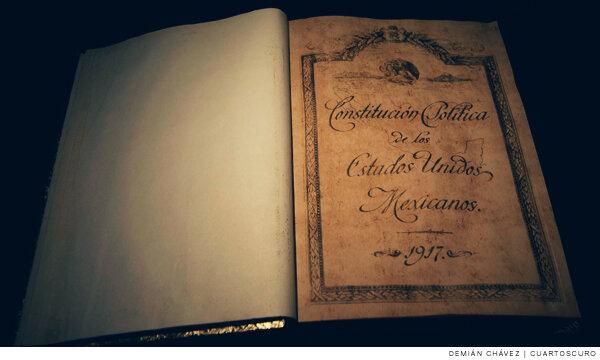 Constitución federal de los Estados Unidos Mexicano