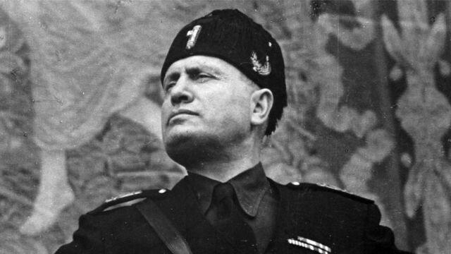 Mussolini mediador