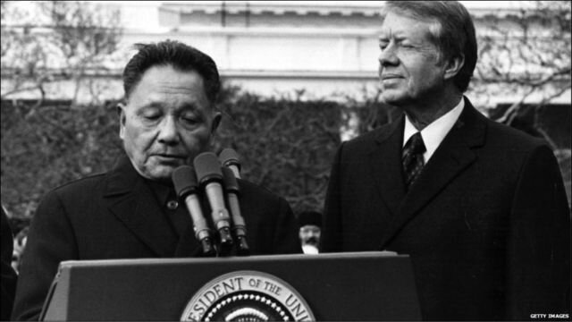 Las relaciones diplomáticas de Estados Unidos y China (01/Enero/1979).