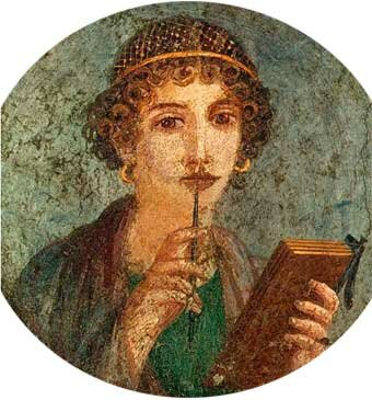 Safo de Mitilene o de Lesbos 620-560 a. C.