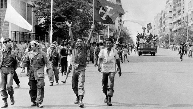 Regreso de Pol Pot a Camboya (1953).