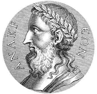 Anacreonte   574-485 a. C.