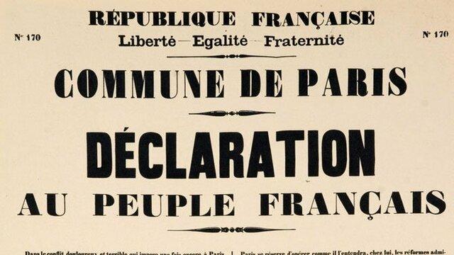 Déclaration au peuple français