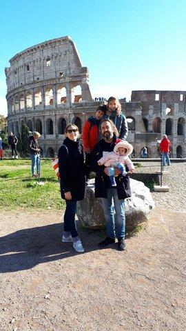 Un viatge amb família, Roma!