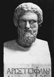 Aristófanes 446 a.C. - 386 a.C.