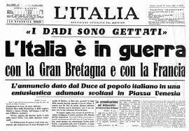 L' Italia entra in guerra