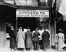 Concessió del sufragi femeni al Regne Unit