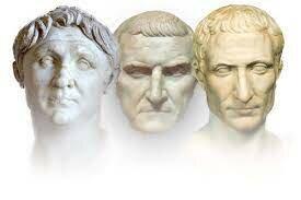 1. Triumvirat: Pompeius, Crassus, Cäsar