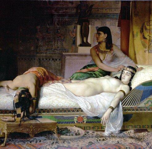Selbstmord des Antonius und Kleopatra