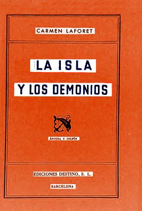"""""""La isla y los dominios"""" de Carmen Laforet"""