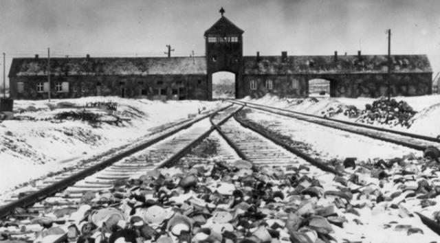 Les tropes russes alliberen Auschwitz