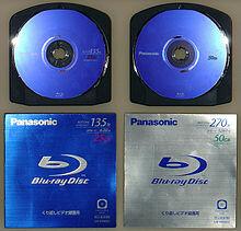 En 2002 surge el disco Blu-ray
