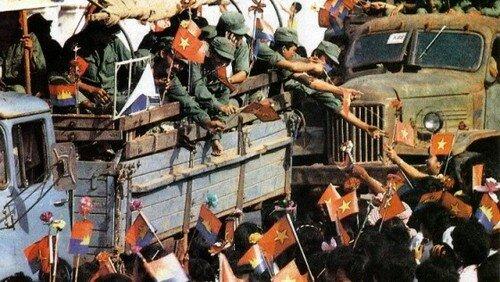 La invasión militar de Camboya por parte de Vietnam el 07/Enero/1979