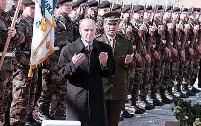 The Bosnia-Herzegovina War Begins
