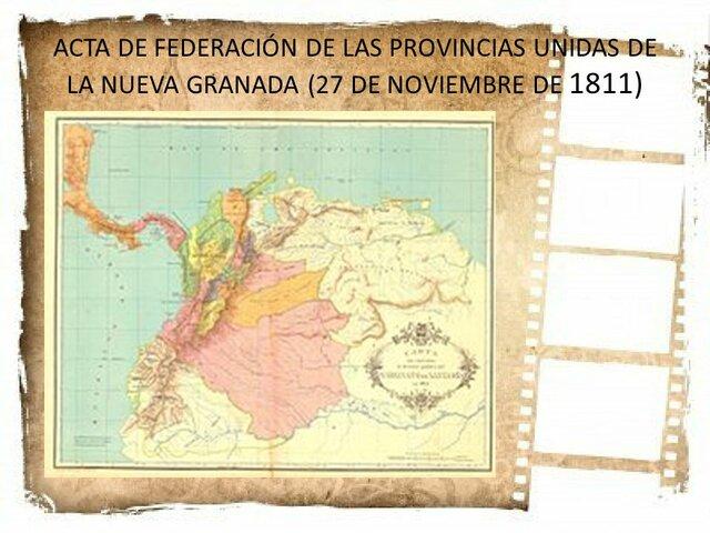 ACTA DE CONFEDERACIÓN DE 1811