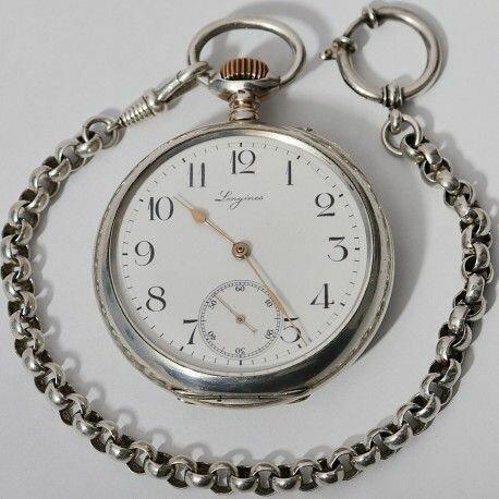 12. Reloj de bolsillo.