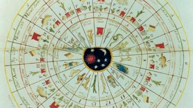 14. Calendario gregoriano.