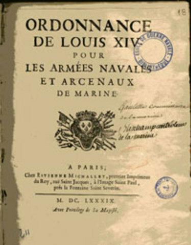 Ordenanzas de Francia.